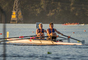 Taken during the World Masters Games - Rowing, Lake Karapiro, Cambridge, New Zealand; Tuesday April 25, 2017:   6667 -- 20170...