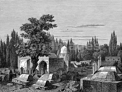 Tombs of the Caliphs in Damascus, Syria