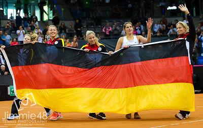 Fed Cup Germany - Ukraine 2017 photos