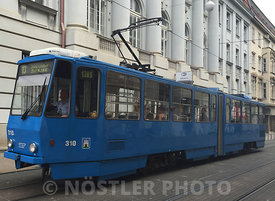 The ZET 310 KT4 articulated tramcar