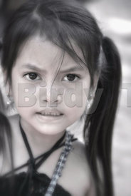 """Child at Banteay Srei - 4"""