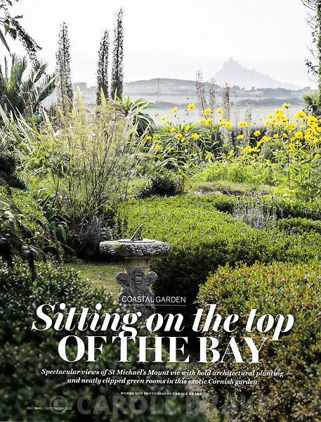 Ednovean Farm, Homes and Gardens, September 2015