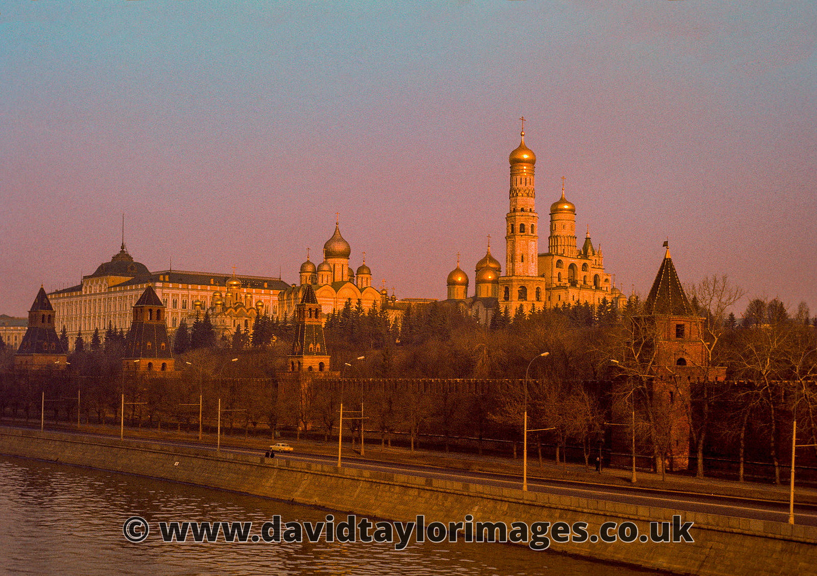 The Kremlin from the Bolshoy Moskvorestsky Bridge | Moscow | April 1976