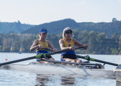 Taken during the World Masters Games - Rowing, Lake Karapiro, Cambridge, New Zealand; ©  Rob Bristow; Frame 514 - Taken on: T...