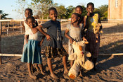 Children at Bandawe Mission, Chintheche, Malawi