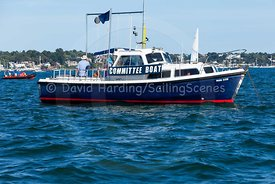 Committee boat Ron Cox, adidas Poole Week 2016, 20160826333