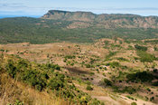 View down the escarpment from Livingstonia, Malawi