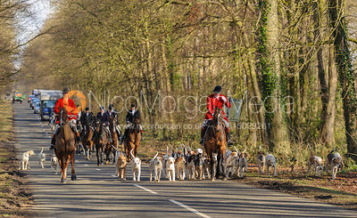 The Cottesmore Hunt at Barnsdale Lodge 1/3