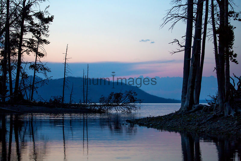 Southest arm of Yellowstone Lake