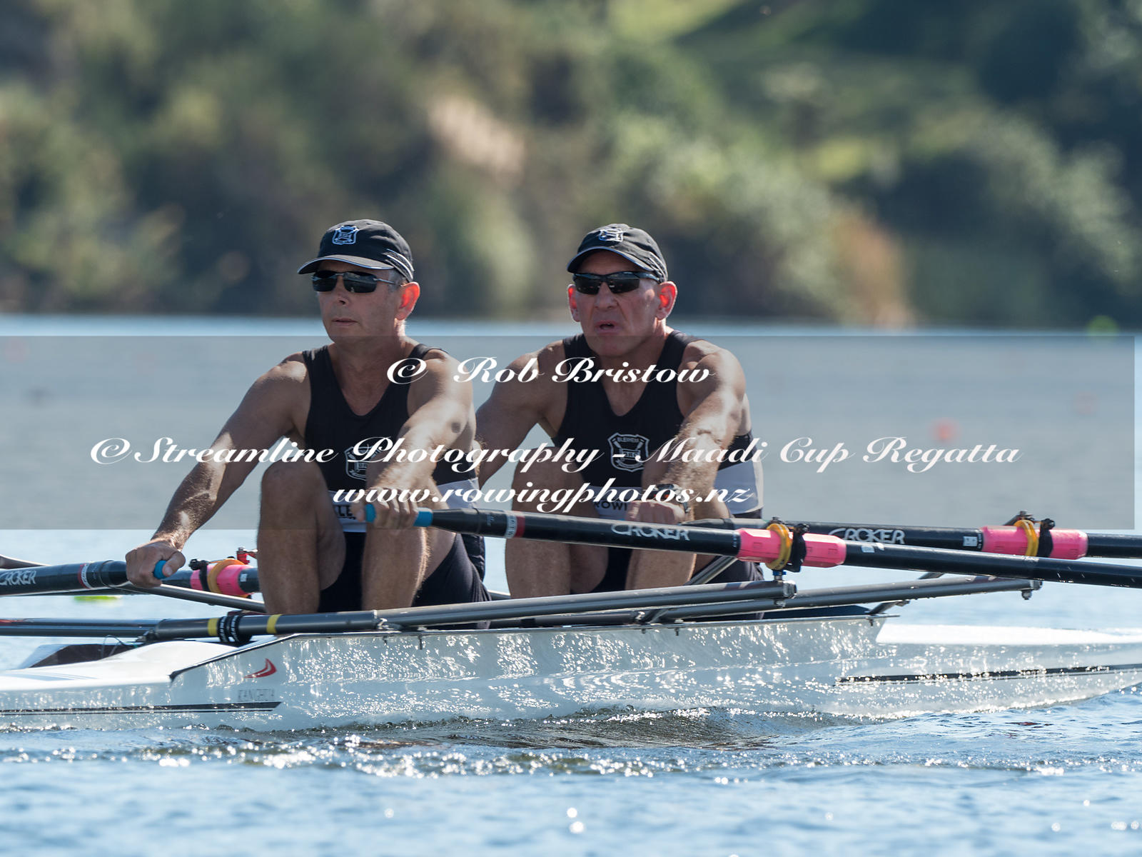 Taken during the World Masters Games - Rowing, Lake Karapiro, Cambridge, New Zealand; ©  Rob Bristow; Frame 3857 - Taken on: ...