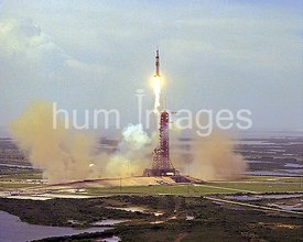 The Apollo Soyuz Test Project Saturn IB launch vehicle thundered away from KSC's Launch Complex 39B at 3:50 p.m.