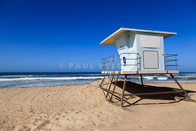 Huntington Beach Lifeguard Tower Photo