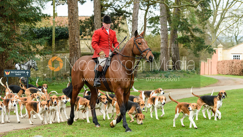 The Belvoir Hunt at Buckminster 21/2