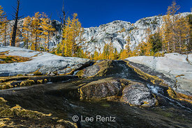 Snow Creek and Polished Granite in The Enchantments