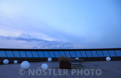 Rooftop view at Trafiktårnet Øst