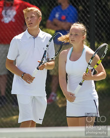 4A Mixed Doubles Tennis Championship game