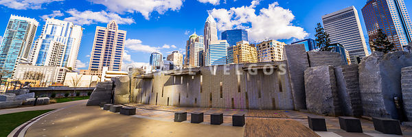 Charlotte North Carolina Panorama Photo