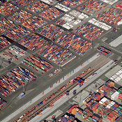 Container Area, Port of Hamburg