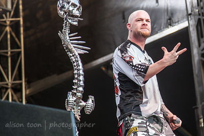 Ivan Moody, Five Finger Death Punch, Aftershock 2014