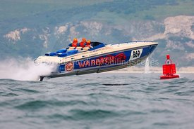 Warpath, B69, Fortitudo Poole Bay 100 Offshore Powerboat Race, June 2018, 20180610063