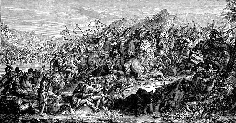 Alexander the Great at Battle of Granicus