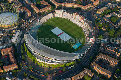 Aerial view of The Oval, Lambeth, London
