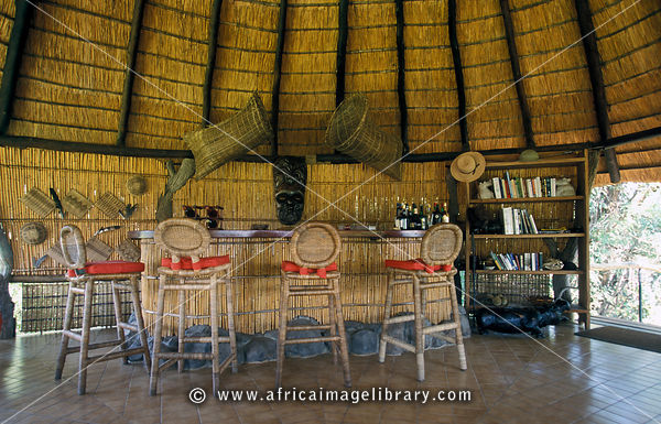 bar, Mvuu Lodge, Liwonde National Park, Malawi