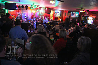 The progressive classic rock band, the Beaker Brothers perform Saturday night to patrons of Shakespeare's Pub and Grill locat...