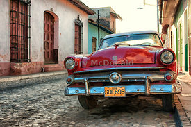 Old Red Car, Trinidad