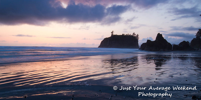 Ruby Beach Last Light