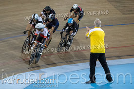 Master C Men Keirin 1-6 Final. Canadian Track Championships, Saturday Morning Session, September 29, 2018