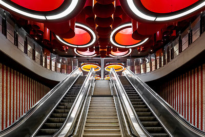 Pannenhuis metro station - award winning photo of Bruxelles Patrimoine competition 2018