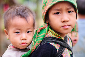 Hmong Children in Phang Hai Village