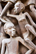 Wood carving at the Cultural Heritage Centre, Arusha, Tanzania