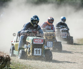 The BLMRA 12 Hour Lawn Mower Race