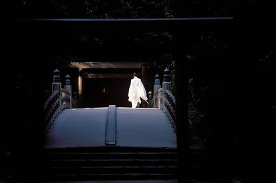 Shinto priest.