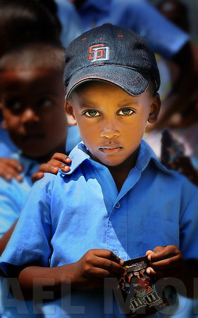 Dominican Republic Schoolboy