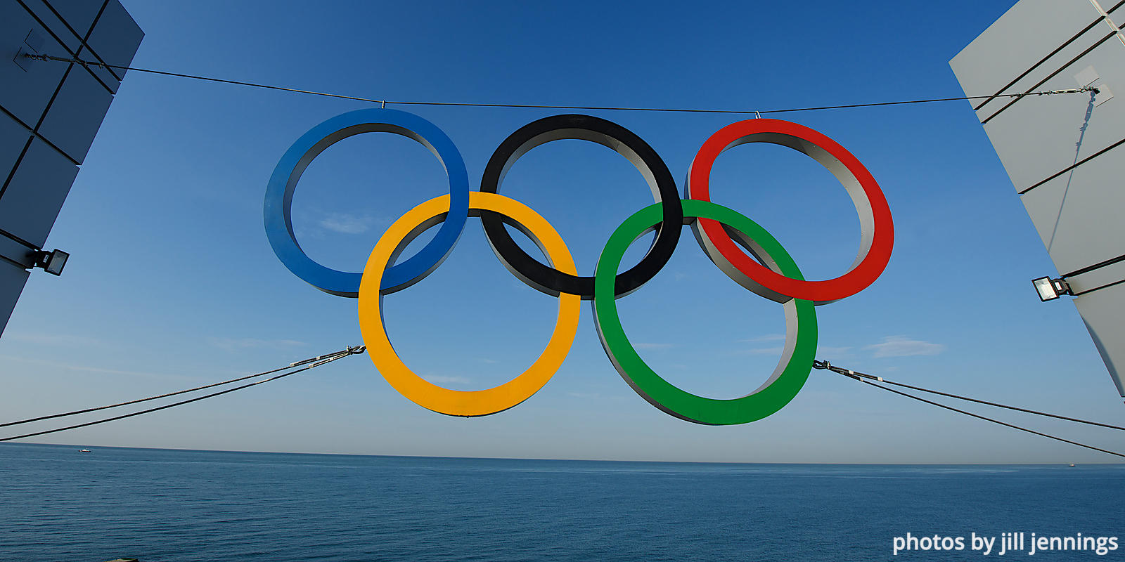 OLYMPIC RINGS, BLACK SEA