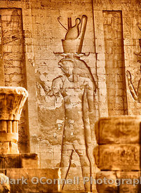 Wall carving Edfu
