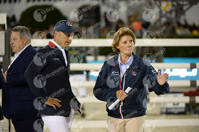 Joe CLEE ,(GBR) during Furusiyya FEI Nations Cup Jumping Final competition at CSIO5* Barcelona at Real Club de Polo, Barcelon...