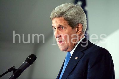 Secretary Kerry Addresses Reporters During News Conference Following Nuclear Program Negotiations With Iran in Vienna