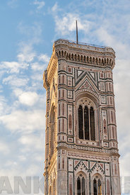 Giotto's Bell Tower also known as the Campanile in Florence, Italy.