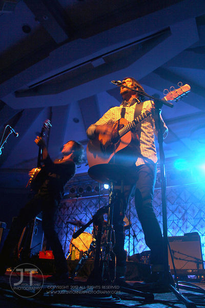 Avett Brothers perform at the Iowa Memorial Union, March 7, 2012