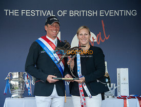 Oliver Townend (GBR) with Zara Tindall