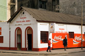 Mozambique, Beira, pastelaria or pastry shop.
