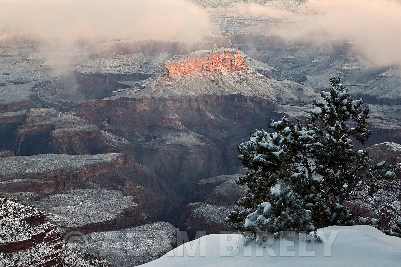 Winter Sunrise - Grand Canyon