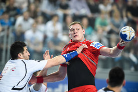 Dainis KRISTOPANS of MESHKOV BREST during the Final Tournament - Final Four - SEHA - Gazprom league, third place match, Varaz...