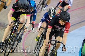 Cat 2 Women Points Race / Omni I. Eastern Track Challenge / O-Cup #3, February 10, 2019
