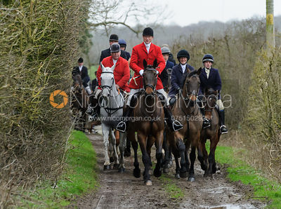 The Cottesmore Hunt at Furze Hill 26/1