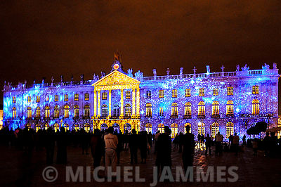 Spectacle de son et lumières Place Stanislas à Nancy